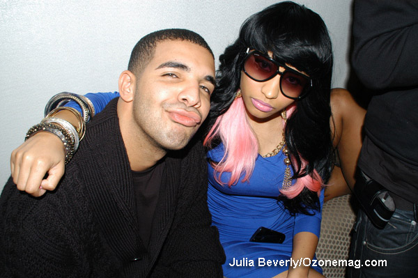 is nicki minaj and drake together. Drake and Nicki Minaj ran