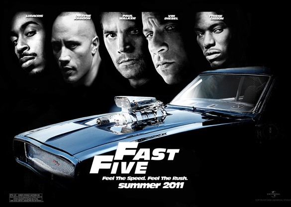 new fast five poster. Oh yes, this new Fast and